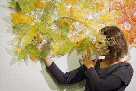 Jill Powers, Color in a Changing Forest, in a Live Motion performance