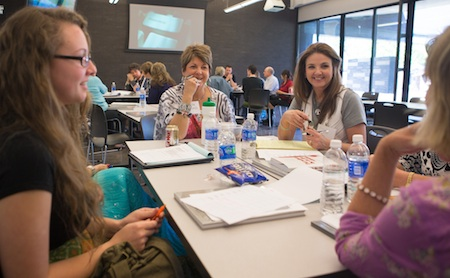Photo of Artists at a Business Workshop