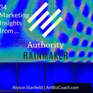 Marketing Insights from the Authority Rainmaker Conference