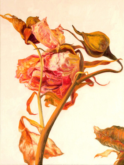 Painting of flower by Laureen Marchand