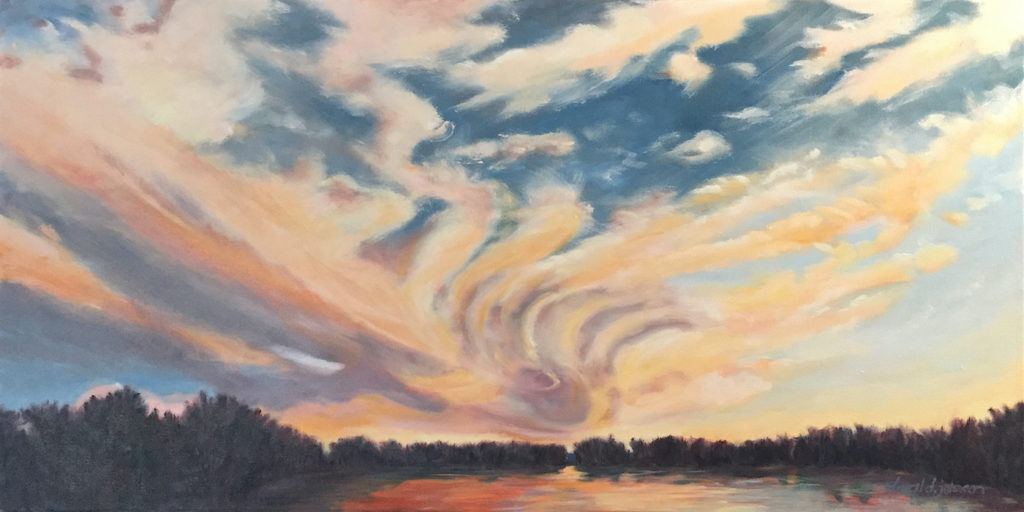 Cloud Painting by Daryl D. Johnson